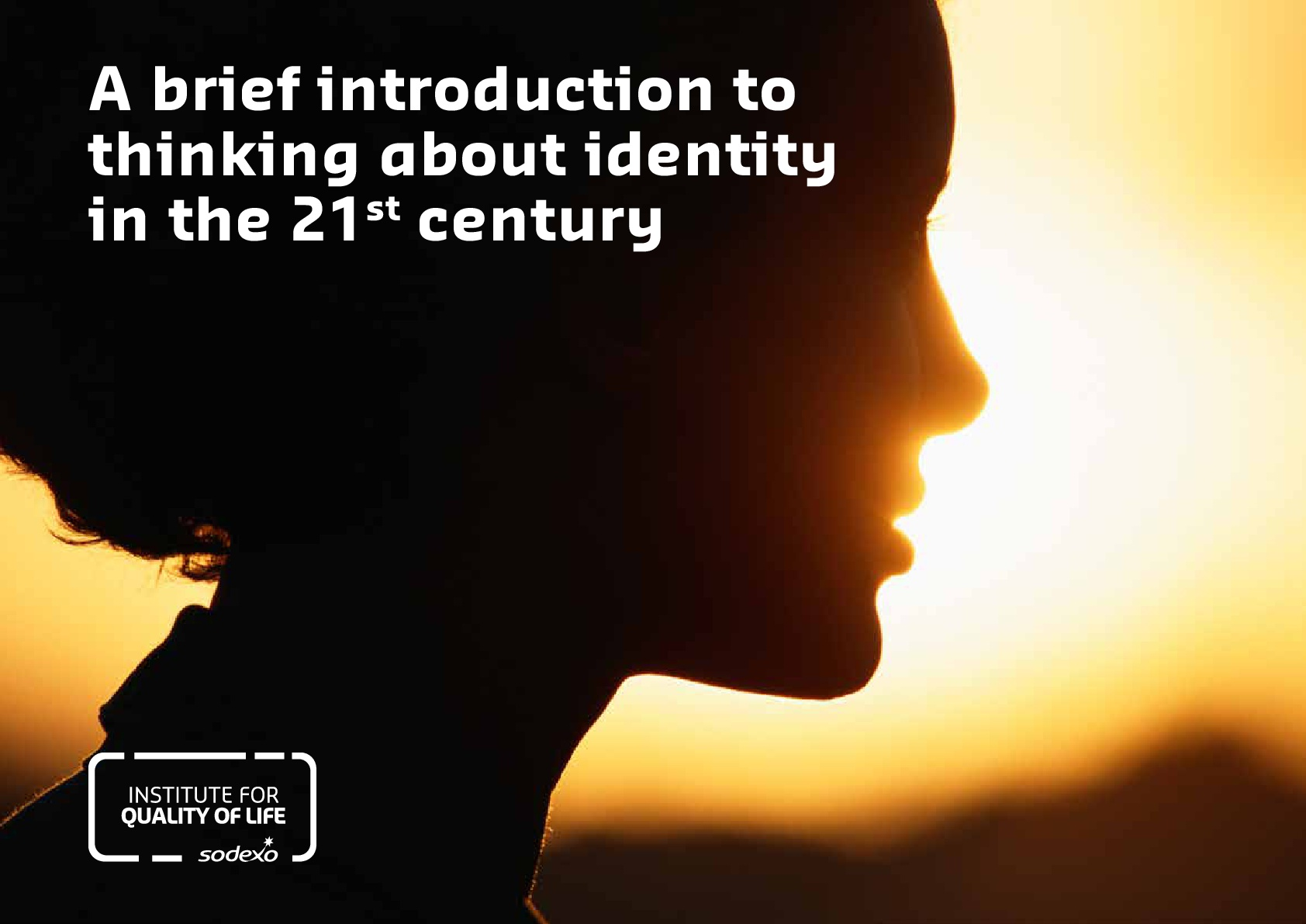 A brief introduction to thinking about identity in the 21st century